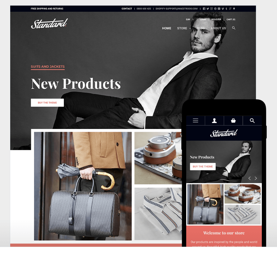 top themes payants shopify image exemple theme flocal
