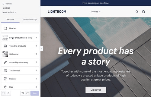 boite a outils ecommerce image exemple shopify